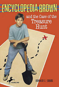 Encyclopedia Brown And The Case Of The Treasure Hunt (Turtleback School & Librar