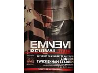 Eminem Twickenham Saturday 2x standing