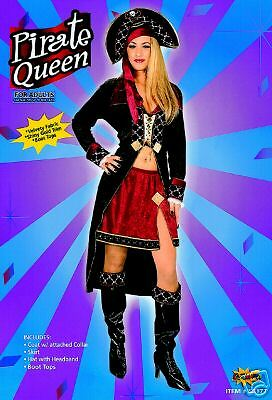 PIRATE QUEEN SEXY  FANCY DRESS HALLOWEEN ADULT - Pirate Queen Sexy Kostüm