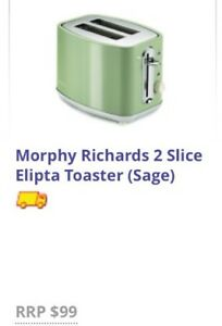 Blue/Indigo Morphy Richards 2 slice toaster Narre Warren South Casey Area Preview