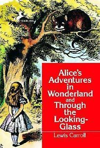 Alice in WonderlandThrough the Looking Glass (Dell Yearling Classic)-ExLibrary