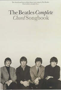 THE BEATLES COMPLETE CHORD SONGBOOK., No author., Used; Very Good Book