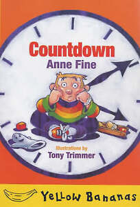 """VERY GOOD"" Countdown (Yellow bananas), Fine, Anne, Book"