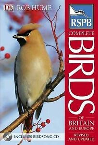 RSPB Complete Birds of Britain and Europe-ExLibrary