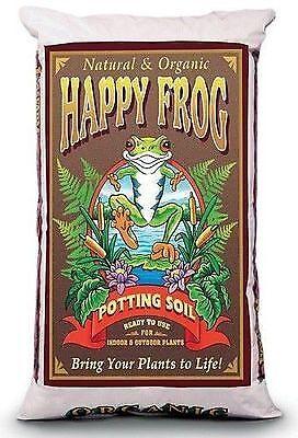 ORGANIC FOX FARM HAPPY FROG POTTING SOIL 2 GALLON-Free Shipping to USA only! - Organic Potting Soil