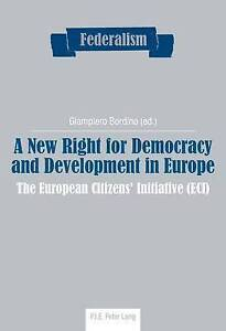 New Right For Democracy And Development In Europe  9782875742476