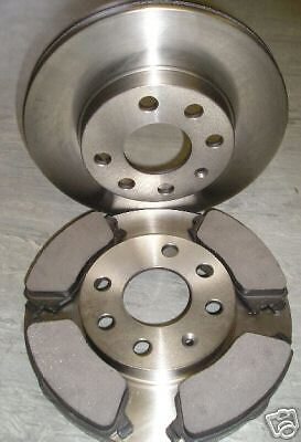 VAUXHALL CORSA C 1.0 1.2 VENTED FRONT BRAKE DISCS AND PADS 2000 - 2006