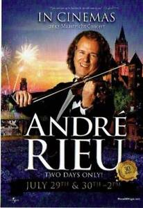 2 x Andre Rieu's 2017 Maastricht Concert Adult Tickets Wallsend Newcastle Area Preview