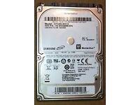 Samsung 500gb 2.5 laptop/ps3 hard drive