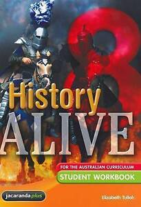 History Alive 8 Student Workbook by Elizabeth Tull BNew FREE SHIPPING