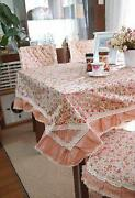 Vintage Cotton Floral Tablecloths