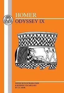 Odyssey: Bk.9 by Homer (Paperback, 1991) 9780906515617