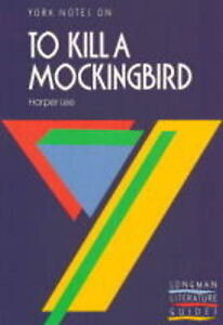 To-Kill-a-Mockingbird-York-Notes-R-Metcalf-Used-Good-Book