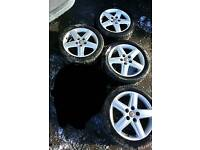 "Audi s line alloys 18"" vw T4"