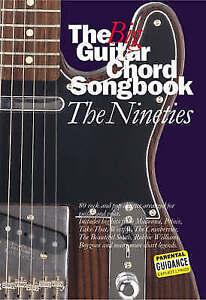 The Big Guitar Chord Songbook Nineties  New Book - Hereford, United Kingdom - The Big Guitar Chord Songbook Nineties  New Book - Hereford, United Kingdom