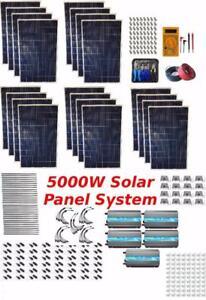 5kW Solar Panel System Grid Tie