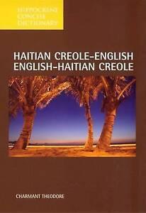 Haitian Creole-English, English-Haitian Creole Dictionary, Charmant Theodore