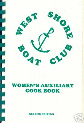 Parma  Toledo Oh 1989 Vintage  Community Local Cook Book  West Shore Boat Club