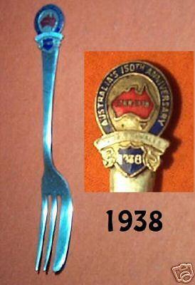 #D5. 1938 150th AUSTRALIAN CELEBRATIONS SOUVENIR FORK