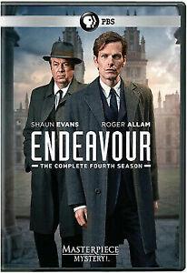 Masterpiece Mystery Endeavour Season 4 UK-Length Edition DVD - $14.44