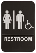 Handicap Bathroom Sign