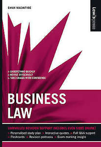 Law Express Business Law 1st edition by Ewan MacIntyre (Paperback, 2008)