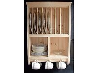 The Burscough Pine Plate Rack......popular product over 35 sold on eBay!!!!...
