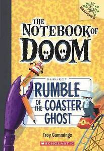Rumble of the Coaster Ghost By Cummings, Troy 9780606380768 -Hcover
