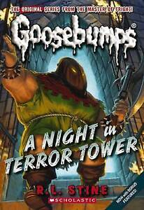 A Night In Terror Tower by R L Stine BRAND NEW Goosebumps Book (Paperback, 2015)