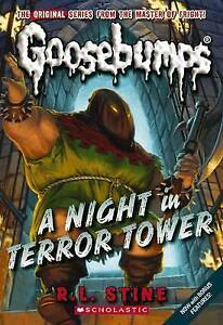 NEW A Night in Terror Tower (Classic Goosebumps #12) by R.L. Stine