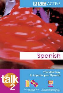 Talk Spanish 2 (Spanish Edition)-ExLibrary