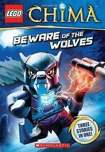 Chima (Lego Legends) Beware of the Wolves (Chapter Book #2) New Book (Early)