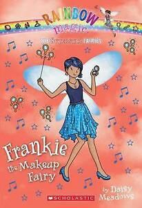 Superstar Fairies #5: Frankie the Makeup Fairy: A Rainbow Magic Book-ExLibrary