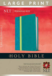 Personal Size Large Print Bible-NLT by Tyndale 9781414398457