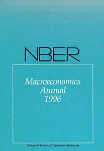 Nber Macroeconomics Annual 1996 (Paper), Ben Bernanke