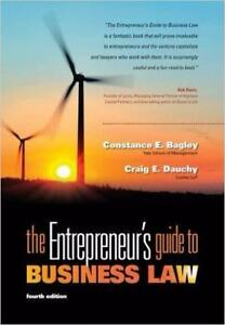 The Entrepreneurs Guide to Business Law 4th Edition