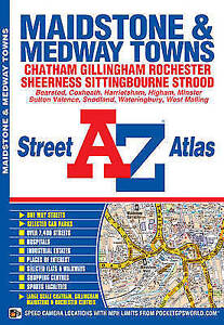 Maidstone-amp-Medway-Towns-Street-Atlas-by-Geographers-039-A-Z-Map-Company