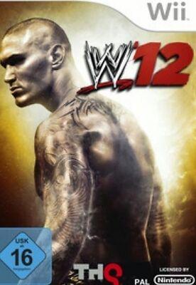 Nintendo Wii +Wii U WWE 12 Wrestlemania W12  DEUTSCH  Top Zustand ()
