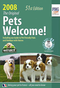"""""""AS NEW"""" Pets Welcome! 2008, Anne Cuthbertson, Book"""