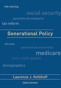 Generational Policy, Laurence J Kotlikoff