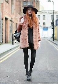 ASOS faux fur coat