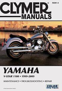 1999 2009 yamaha v star 1100 xvs1100 custom classic clymer. Black Bedroom Furniture Sets. Home Design Ideas