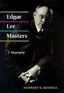 edgar lee masters biography essay