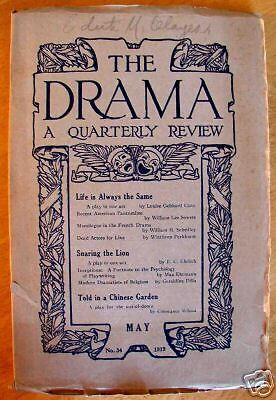 The Drama - A Quarterly Review May 1919