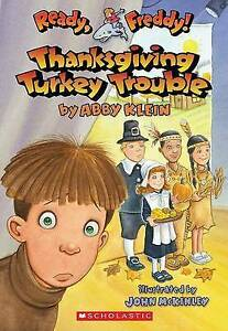 Ready, Freddy! #15: Thanksgiving Turkey Trouble-ExLibrary