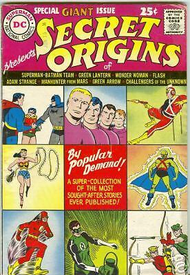 Secret Origins of DC Comics #1 1961 VG