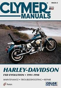 Harley-Davidson-Fxd-Evolution-1991-1998-by-Clymer-Staff-and-Clymer