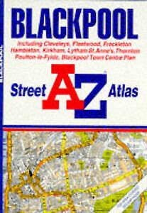 A. to Z. Street Atlas of Blackpool (A-Z Street Atlas),  | Paperback Book | Good