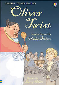 Oliver-Twist-Usborne-Young-Reading-Charles-Olmstead-Kathleen-Retelling-Di
