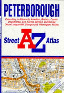 A-to-Z-Peterborough-Street-Atlas-A-Z-Street-Atlas-Geographers-A-Z-Map-Compa
